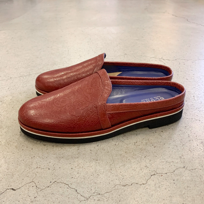 BLOHM PAISLEY MULE NEW ARRIVAL 出色 ペイズリーミュール ブローム