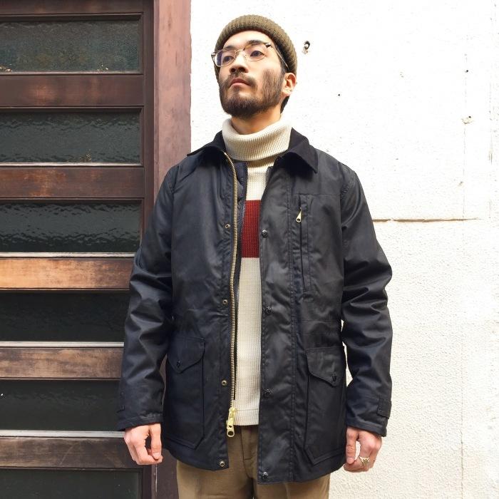 FILSON / COVER CLOTH MILE MARKERフィルソン オイルドジャケット コート