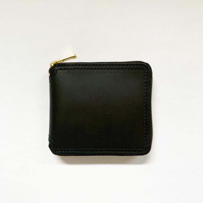 VASCO / LEATHER VOYAGE ROUND ZIP SHORT WALLET - Made in Japan (ヴァスコ ウォレット)