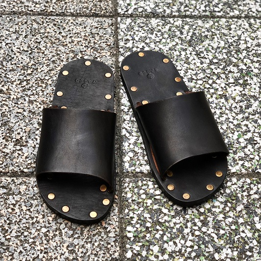 VASCO / LEATHER TRAVEL SANDAL- Hand Made in Japan -ヴァスコ レザーサンダル