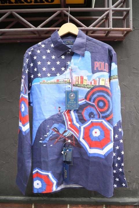 POLO RALPH LAUREN / OLYMPIC USA L/S SHIRT(ポロラルフローレン チームUSA オリンピック モデル シャツ)