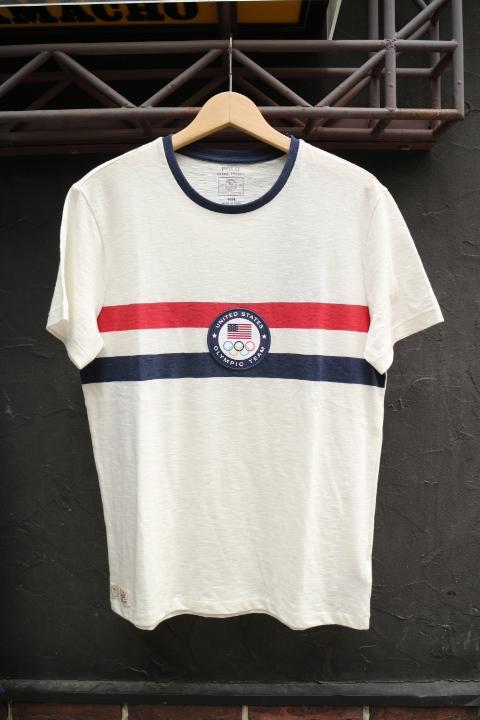 POLO RALPH LAUREN / OLYMPIC USA TRIM T-SHIRT(ポロラルフローレン チームUSA オリンピック モデル Tシャツ)
