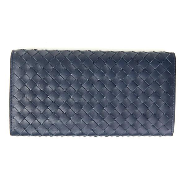 Since the 10/15 sequential shipment Bottega Veneta (Bottega Veneta) fold BOTTEGA VENETA wallets wallets mens two dark Navy 156,819 V4651 4013