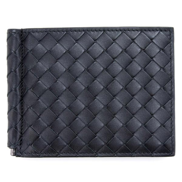 Bottega Veneta (Bottega Veneta) purse BOTTEGA VENETA two-fold, wallet mens tag scissors money clip card (IC card) slots 123180 V 4651 1000 black (black)