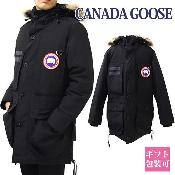 カナダグース CANADA GOOSE ダウン メンズ ダウンジャケット フード フーディ マクローチ ブラック 9512M MACCULLOCH PARKA BLACK 61 ホワイトデー プレゼント