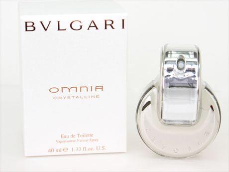 Bulgari perfume Omnia crystalline omniacristan EDT SP 40 spray