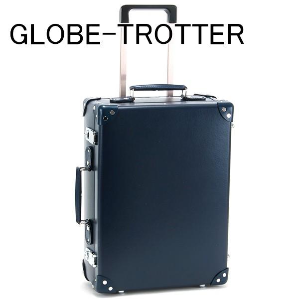 【即納】あす楽対応 グローブトロッター GLOBE-TROTTER キャリーケース スーツケース バッグ 鞄 かばん 旅行かばん 旅行鞄 18 CENTENARY センテナリー トローリーケース ネイビー GTCNTNN18TC NAVY NAVY 正規品 セールブランド 新品 新作 2019年 ホワイトデー