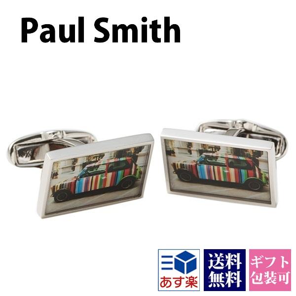 ポールスミス Paul Smith カフス メンズ カフリンクス ボタン アクセサリー ミニクーパー ANXA CUFF NPHOTO 1 正規品 セール シンプルブランド 新品 新作 2018年