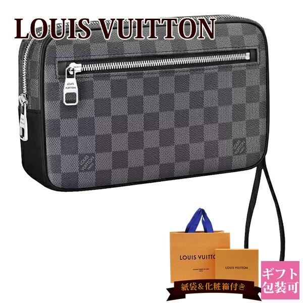ルイヴィトン バッグ 鞄 かばん LOUIS VUITTON 新品 メンズ セカンドバッグ ポシェット・カサイ ダミエ・グラフィット N41664 ギフト ホワイトデー プレゼント