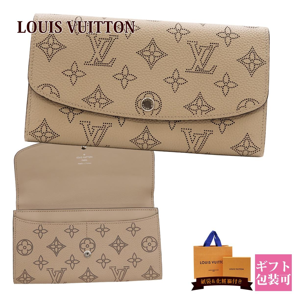 ルイヴィトン 財布 長財布 新品 レディース 二つ折り ポルトフォイユ・イリス 正規品 LOUISVUITTON M60144 ホワイトデー ギフト 春財布