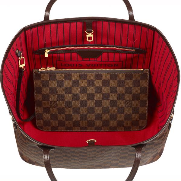 37deba5a Louis Vuitton bag bag bag LOUISVUITTON new article レディーストートバッグネヴァーブル (full  never) MM ダミエ N41358 regular ...