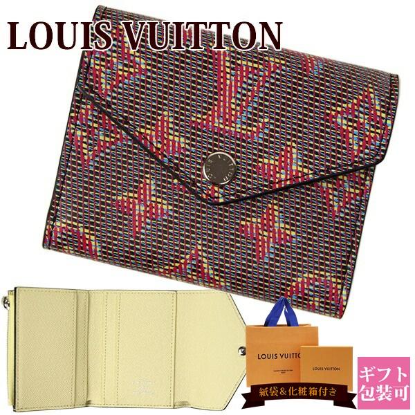 ルイ ヴィトン LOUIS VUITTON ヴィトン 財布 三つ折り財布 レディース LV ポップ モノグラム ポルトフォイユ・ゾエ ローズ M68673 ホワイトデー プレゼント