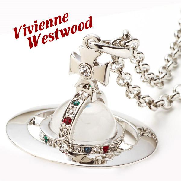 新品 ヴィヴィアンウエストウッド(Vivienne Westwood)ネックレス メンズ レディース スモールオーブペンダント アクセサリー シルバー SMALL ORB PENDANT SILVER 正規品/通販/ブランド品 シンプル/新作/あす楽 ギフト