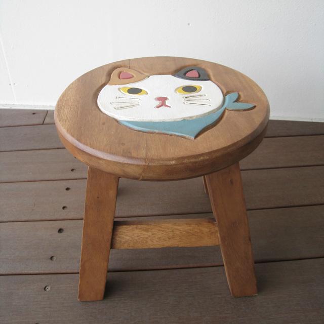 Wood Gallery ITSUKI   Rakuten Global Market: Present round stool ...