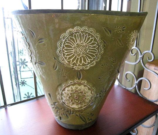 Wood Gallery Itsuki Rakuten Global Market Vase Earthenware Vase