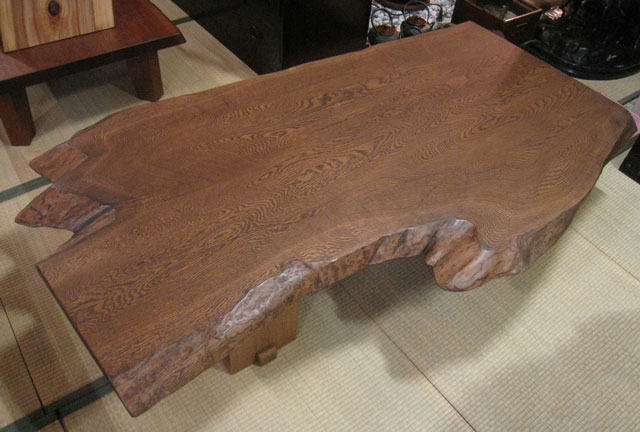 Good Solid Oak Table Piece Plate Piece Plate Table Solid Takuya Grand  National Dining Center ...