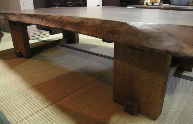 ... Good Solid Oak Table Piece Plate Piece Plate Table Solid Takuya Grand  National Dining Center