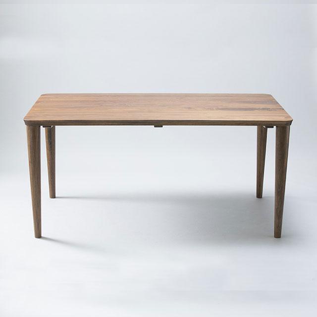 ダイニングテーブル 150 ウォールナット 無垢 木製 おしゃれ かっこいい 北欧 ナチュラル 送料無料 送料込み【送料無料】150ダイニングテーブルA