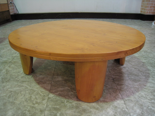 Round Table Living Taku Roundtable Table Folding Routable Center Table  Coffee Table Taku Wooden Pine Wood Stylish Natural Design Table Pine Solid  Wood Table ...