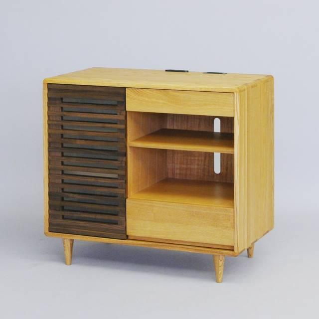 TV Board TV Units AV Cabinet AV Board Sideboard Side Chest Tamo Walnut  Storage Bookcase Storage