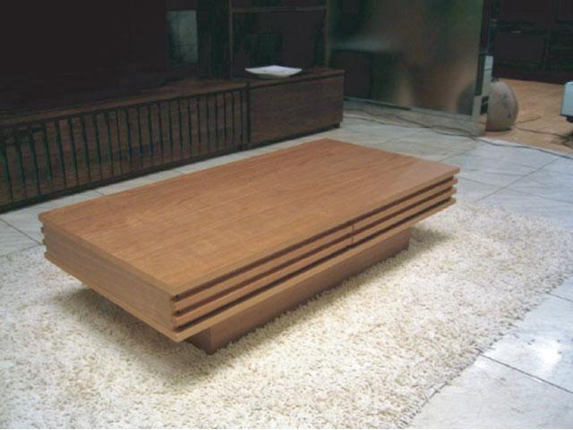 センターテーブル リビングテーブル センターテーブル 木製リビングテーブル ローテーブル リビング モダン ラグジュアリー 個性的 高級 上質 ウォールナット 天然木 送料込み 完成品【送料無料】リビングテーブル ウォールナット材