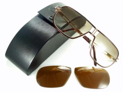 【換え偏光レンズ付き】激レア/ブラウン/CAZAL カザール サングラス937-130【送料無料】【UVカット】