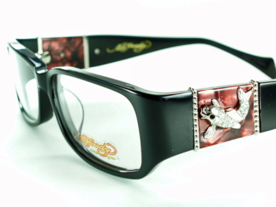 w-riv: Fish - black Ed Hardy Ed Hardy mens eyeglass frames EHOA-006 ...