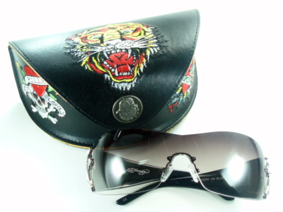 Ed Hardy Ed Hardy sunglasses EHA-CROSS-BLACK cross-black