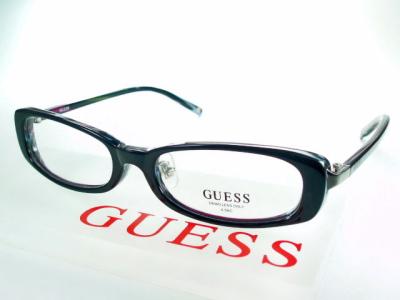 【レンズ付セット】鼻パッド付きGUESS ゲス フレーム GU8061-blk【送料無料】