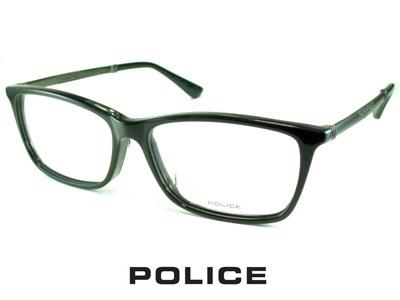 シャープなウェリントン/メタルテンプル/ブラック/ POLICE ポリス めがねフレーム VPLA13J-01KU 【レンズ付セット】【送料無料】 度付き 眼鏡 伊達メガネ メンズ 度つき uvカット シンプル おしゃれ 飛沫 防止