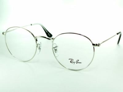 波士頓型/圓眼鏡/約翰·藍儂/銀子Ray-Ban雷斑架子RX6242-2501