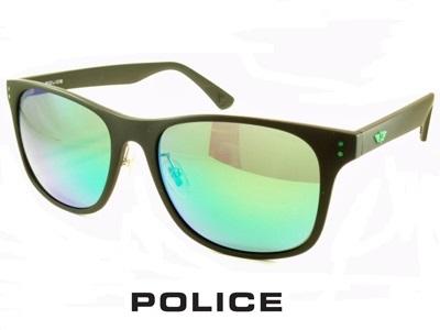 秀逸 ポリス9500円BOX POLICE ポリス 偏光サングラス 1年保証 マルチグリーンミラーレンズ SPL982I-U28V PRODUCT 送料無料 おすすめ UVカット ドライブ 人気 メンズ レディース アイウェア