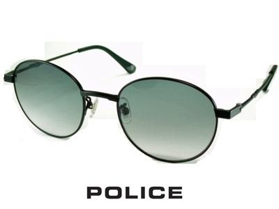 2020/ラウンドスタイル/チタン製 /スモークグラデーション/マットブラック/ POLICE ポリス サングラス POLICE SPLA64J-0531【送料無料】 メンズ UVカット メンズ ブランド 丸メガネ オシャレ ドライブ ジョンレノン 飛沫 防止