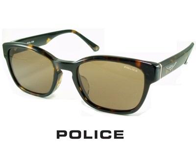 2020/少し小ぶりなサングラス/ブラウン/ハバナブラウン POLICE ポリス サングラス POLICE SPLA66J-0710【送料無料】メンズ UVカット レディース ブランド ストリート系 オシャレ ドライブ 小ぶり クール 飛沫 防止