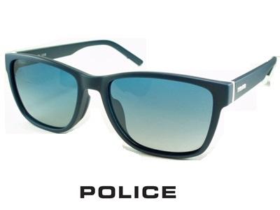2020/軽量スマートフレーム/偏光レンズ/スクエアスタイル/ネイビーグラデーション/マットネイビー POLICE ポリス サングラス POLICE SPLA68J-715P【送料無料】 メンズ UVカット ブランド オシャレ ドライブ リゾート クール 飛沫 防止