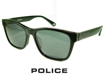 2021年モデル 70%OFFアウトレット 正規品 特価 2021 スクエアなウェリントン ブラック グレーレンズ POLICE ポリス サングラス SPLC63J-0700 メンズ 送料無料 ドライブ 人気 釣り ブランド プレゼント 公式 UVカット おしゃれ