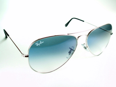 f9b4aab9e30 Blue-gray Ray-Ban Ray Ban sunglasses RB3025 003   3 F  Aviator  classic  metal