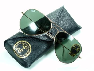 Ray-Ban Ray Ban sunglasses RB3025 l0205 'Aviator' classic metal 05P17May13
