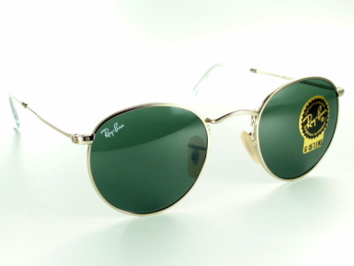 72e4a29ffb87c Gold Ray-Ban Ray Ban sunglasses RB3447 001   round metal ROUND METAL  05P17May13
