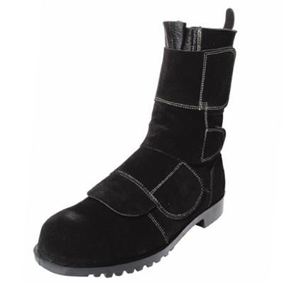 安全靴 作業靴 セーフティシューズ HR208マジック(23.5cm~28.0cm) 溶接 炉前作業用 ノサックス(Nosacks) お取寄せ