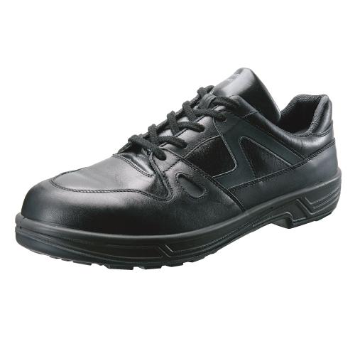安全靴 作業靴 8611 黒(23.5~28.0cm(EEE)) 8600シリーズ SX3層底 スニーカータイプ セフティシューズ シモン(Simon) お取寄せ