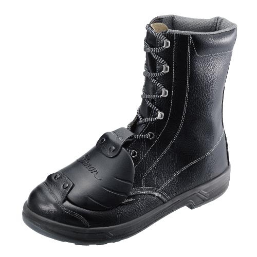安全靴 SS33 樹脂甲プロ D-6(23.5~28.0cm(EEE)) 特定機能付甲プロテクタシリーズ SX3層底 長編上靴 シモン(Simon) お取寄せ