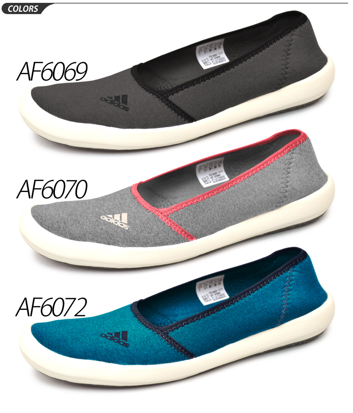 adidas Adidas Womens boat slip on SLEEK sports Sandals shoes shoes women's and women's casual shoes AF6069AF6070AF6072