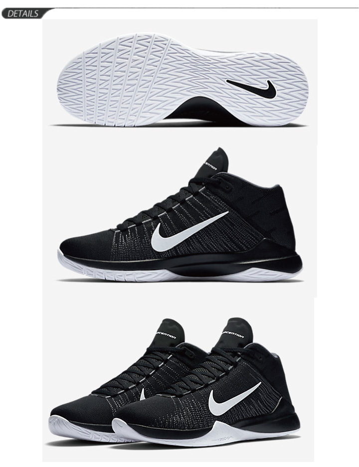 separation shoes 7221f 0c768 Basketball shoes Nike NIKE zoom Ascension men s shoes Shoes Sneakers Club  bash ZOOM ASCENTION shoes for men   832234
