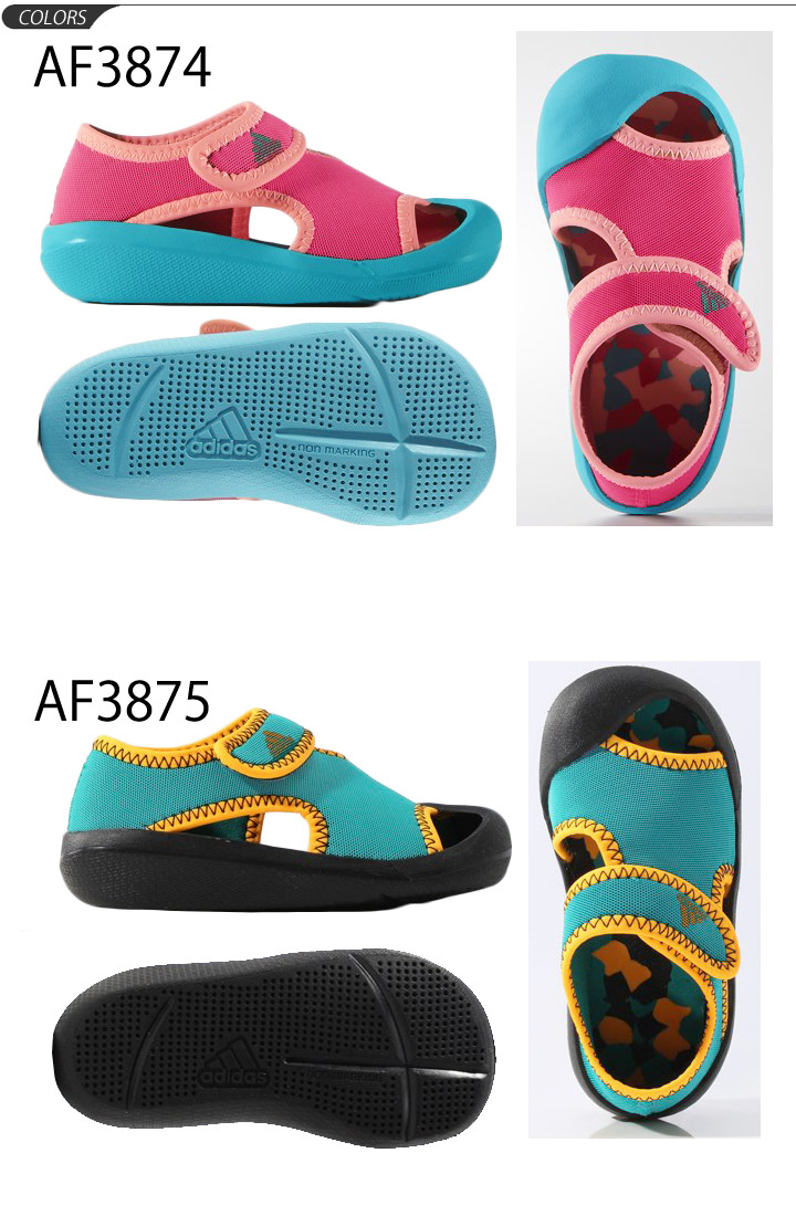 best website 9f420 64ae7 Baby shoes adidas adidas kids shoes baby kids Sandals BABY Thunder fan  Infant pool Beach bathing beach /baby-uni