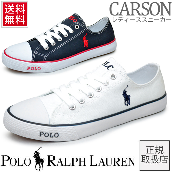 Sneaker Casual 998134 Women's Lauren Low White Shoes Cut Ralph Navy Polo 991249 Genuine Carson mv8wN0On