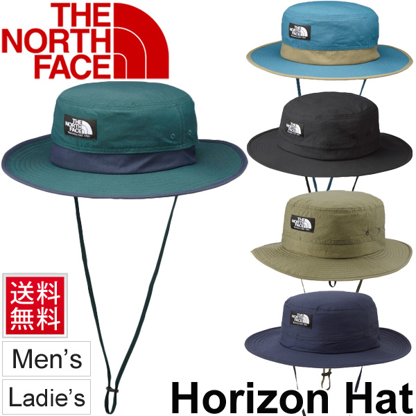 3b80d98d9f5 North face THE NORTH FACE horizon Hat mens unisex Hat outdoors camp  trekking town UV UV protection genuine  NN01461