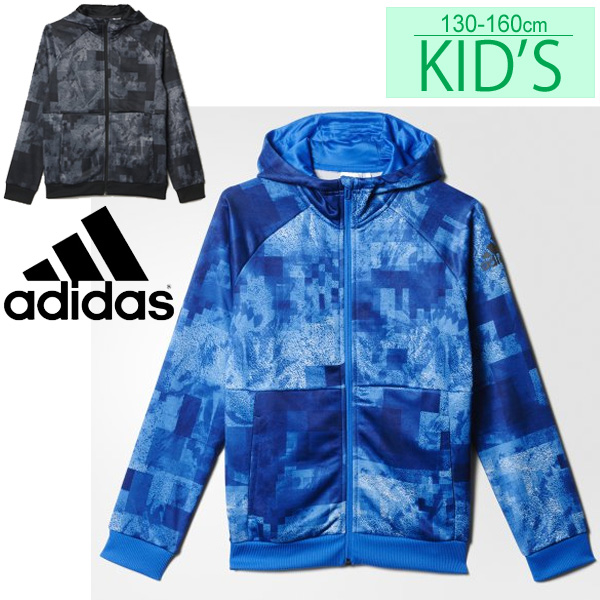 3996592b4a9e8 adidas adidas junior kids ' sweat parka jacket sportswear boys children  clothing 130-160 cm ...