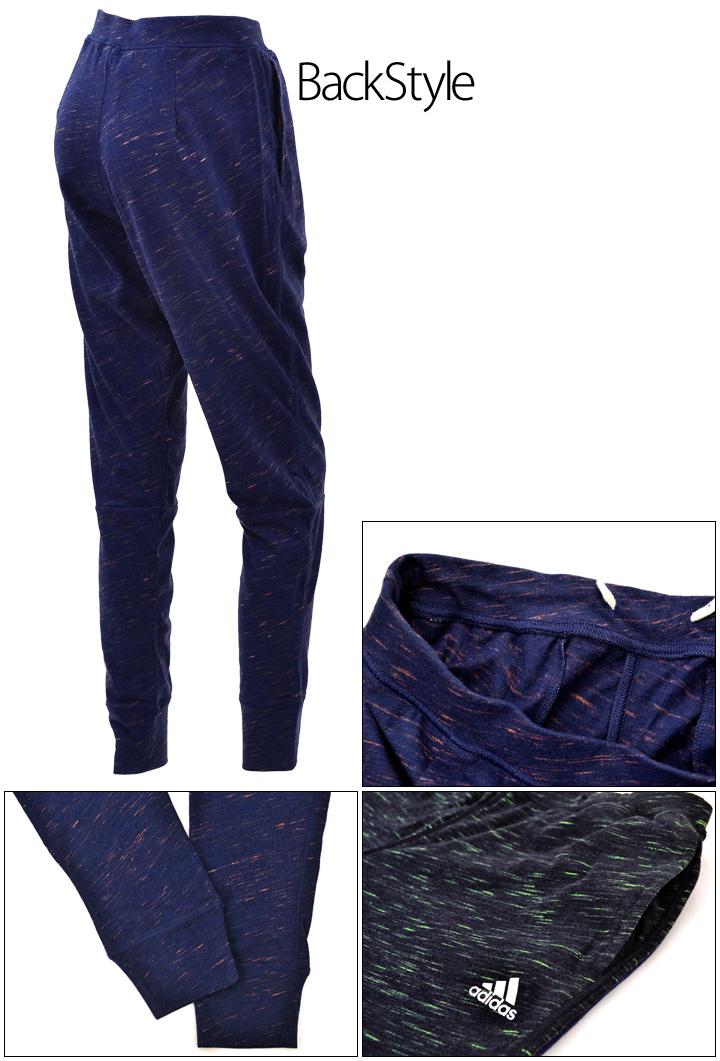 Adidas Womens sweatpants Heather light sweat long pants adidas sweat sports training wear /BWE38