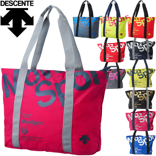 Descente Pocketable Tote Bag Dc8615 Move Sports Sport Mens Las Compact Eco Mobile Dc 8615